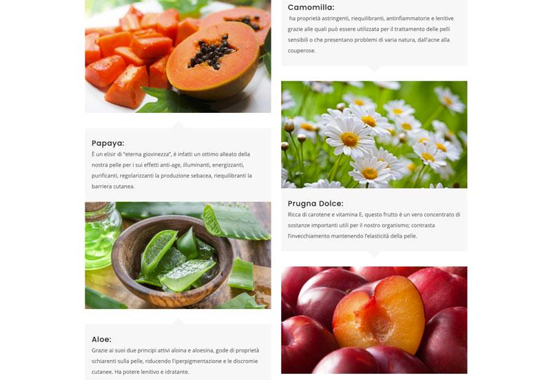 Ingredienti di Clear Skin