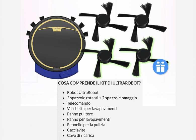 Kit Ultrarobot
