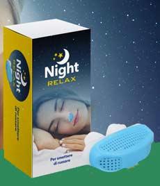 dispositivo antirussamento Night Relax