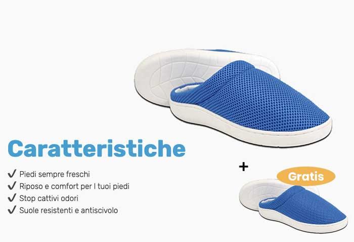 caratteristiche di Stepluxe Slippers